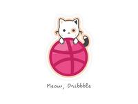Meow, Dribbble