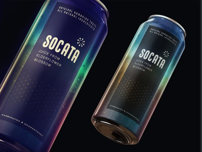 socata color illustrator packaging label candesign can juice drink