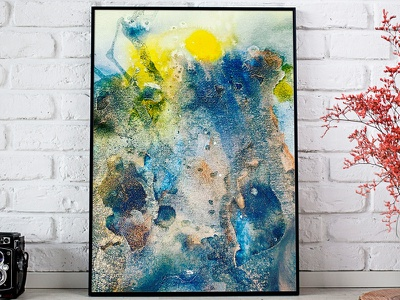 staircase to heaven universe galaxy heaven watercolor illustration watercolor painting watercolor art abstract watercolor