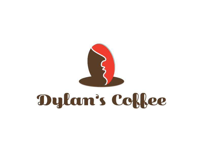 Dylan's Coffee dailylogochallenge day 6 coffee shop bean shop cofffee dylan