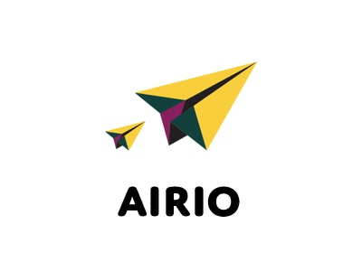 Airio paper fly airplane airio dailylogochallange