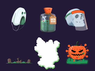 Spooky in Pandemic covid19 covid face shield hand sanitizer sanitizer mask pumpkin bat vampire dracula designsomethingspooky graveyard zombie doot skeleton skull potion ghost halloween