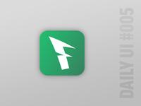 [Daily UI Challenge #005] App Icon