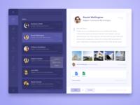 Desktop Email Client Concept