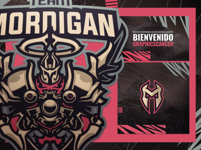 [ SELL ]Team Mordigan armory initial king paladin warrior esports logo esport community armor knight graphics games mascot gaming badge emblem team logo sports esports