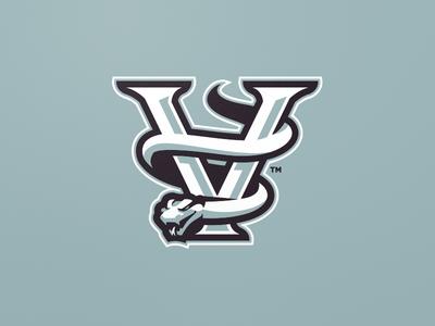 [ SOLD ] Viper Snake python cobra snake v viper caligraphy type typography font graphics mascot gaming badge emblem team logo sports