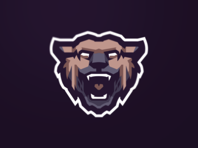 [ SELL ] Beast beasts monster hyena beast illustration game graphics games mascot gaming emblem team logo sports esports