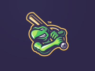 [ SELL ] Turtle Mascot Logo cancer turtles turtle illustration basketball baseball graphics games mascot gaming badge emblem team logo sports esports