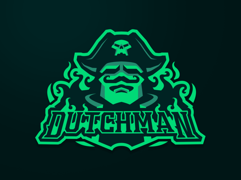 [ SOLD ] Dutchman Ghost design football basketball illustration baseball game graphics games mascot gaming badge emblem team logo esports sports