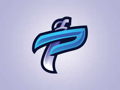 P for Pirates Lettermark Logo
