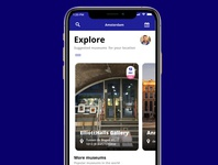 Museums guide app prototyping prototype ui ux uiux