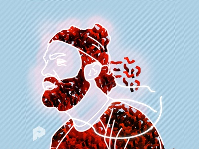 Chet Faker Glow illustration
