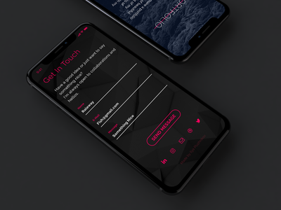 Get in Touch forms get in touch web site design mobile design ux ui ux uid iphone app design app