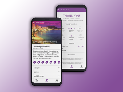 Travel App with your human consultant travel thank you forms design list app design interactions ui ux mobile app