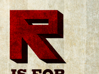 R is for Revolutionary