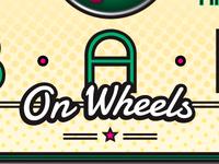 Bar on Wheels Sign