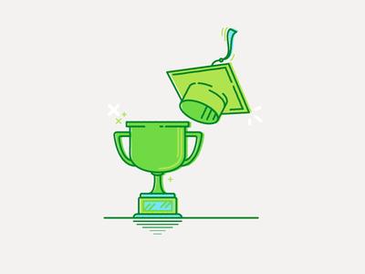 Education + Achievements