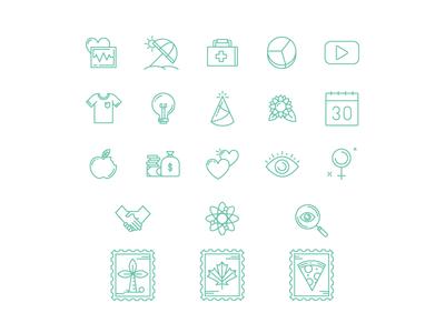 Kin Icon Set