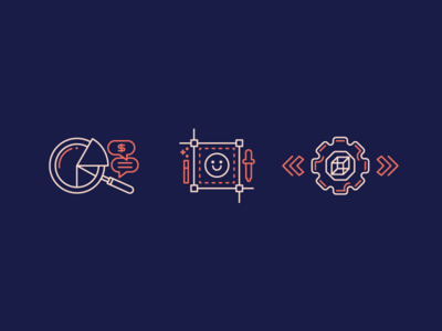 Teams outline stroke minimal icon teams team designer design marketing engineer