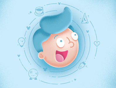 New Profile Icon! instagram face character illustration icon