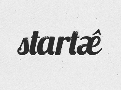 Startaê Logo logo identity branding startup