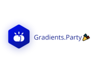 Gradients party logo   text