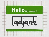 Hello. My name is Ladjane