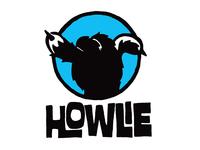 Howlie shaka logo