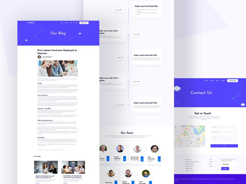 Inner Page vector header ui ux typography experience clean branding agency design website