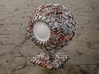 Metal Dribbble