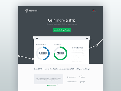 Positionly gain more traffic