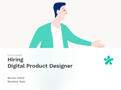 Hiring Product Designer znanylekarz doctoralia docplanner hire designer product health job offer