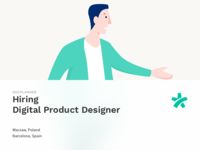 Hiring Product Designer znanylekarz doctoralia docplanner hire designer product health job offer