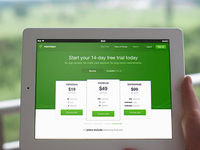 Positionly landing page v3