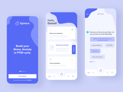 Sphere - App Design