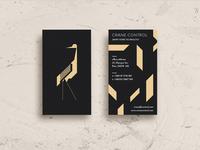 Crane Control - Business Cards
