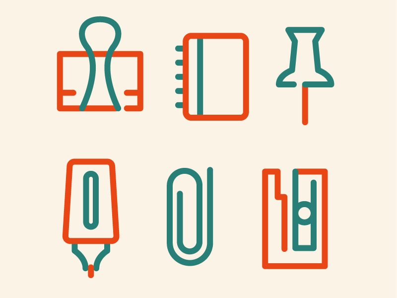simple stationary by daniel yeomans dribbble dribbble