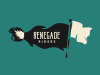 Renegade Riders - Flag