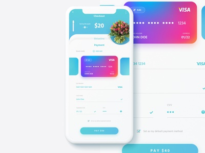 Daily UI #002 - Credit Card Checkout dailyui 002 dailyui002 web vector daily ui dailyui app ux ui illustration design