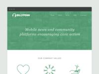 Billy Penn Corporate Website