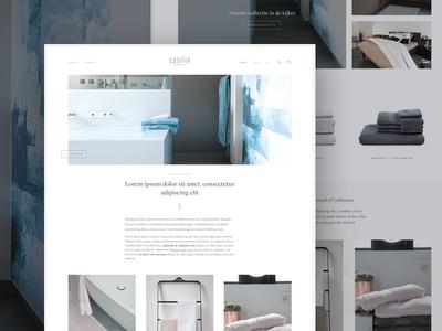 Home linen webshop