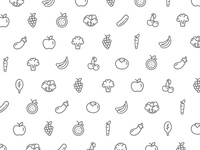 Fruit & Vegetable Icons