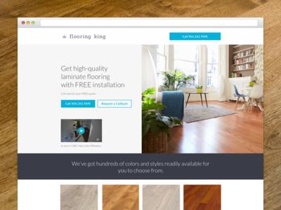 Flooring King Landing Page