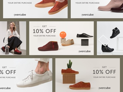 Overcube US Facebook Ads minimal facebook ads ecommerce fashion google ads ppc banner ads ads
