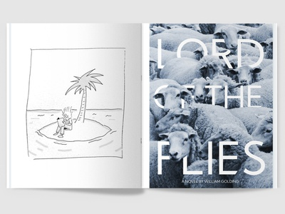 100 Iterations: Water magazine graphic design design typography illustration book design book cover print