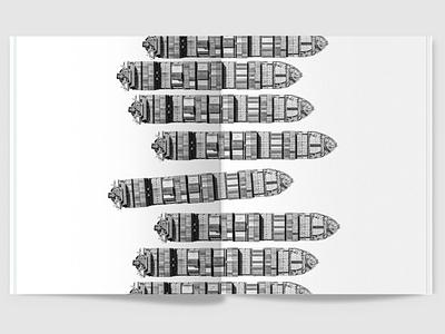 100 Iterations: Water magazine collage graphic design design print