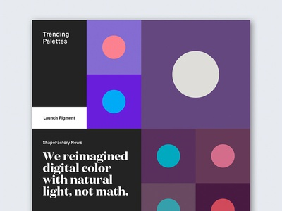 ShapeFactory.co — Landing Page