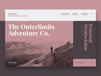 The Outerlimits Adventure Co. // Concept Site