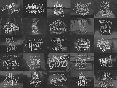 the_promises  theprmsprcjt lettering hand-drawn tumblr typography advent type bible tombow