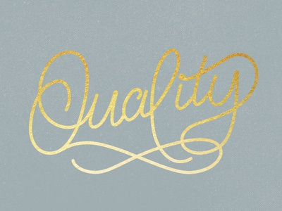 Quality [HELP] monoline typography vector quality fancy gold foil lettering
